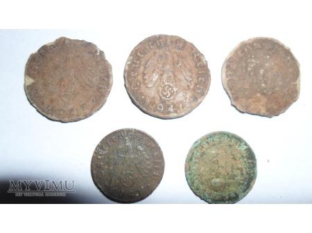 monety niemieckie
