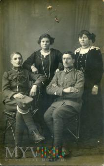 Żołnierze WP z lat dwudziestych