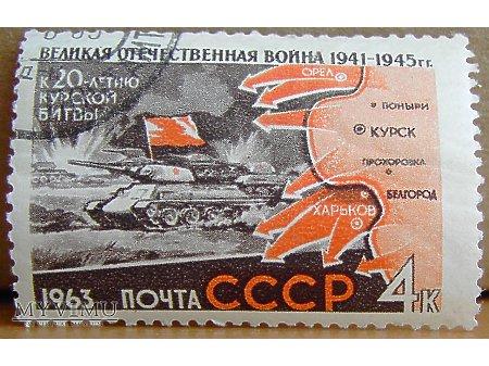 Duże zdjęcie T-34 w natarciu