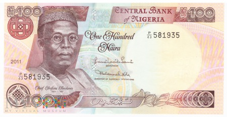 Nigeria - 100 naira (2011)