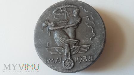 Odznaka 1 MAI 1938 FERD. WAGNER PFORZHEIM