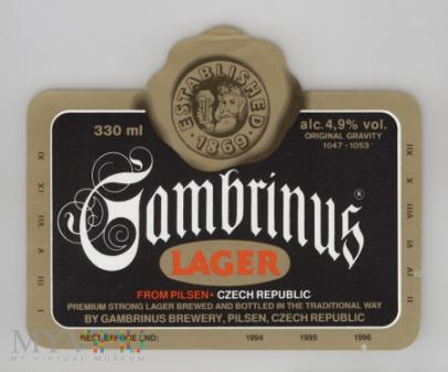 Gambrinus Lager