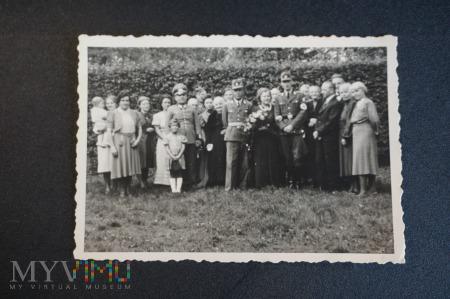 Duże zdjęcie To był ślub - wojskowy - lata 30 XX w.