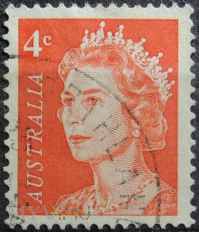 Australia 4c Elżbieta II