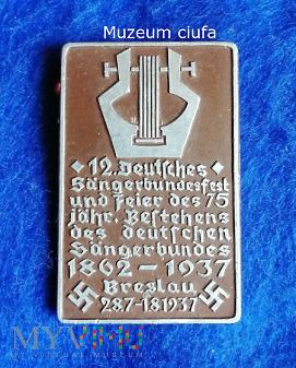 Sangerbundesfest -Breslau 1937