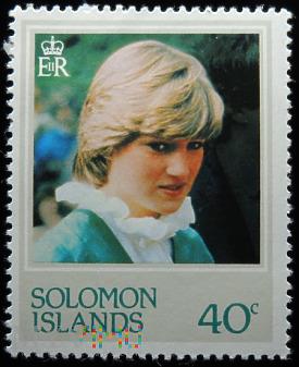 Wyspy Salomona 40c księżna Walii Diana