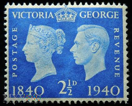 2½d Jerzy VI i Victoria