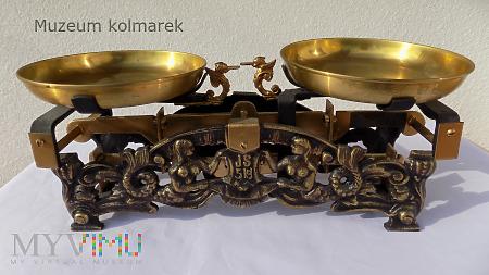 Waga szalkowa 5 kg W-wa Juliusz Sperling z 1930 r.