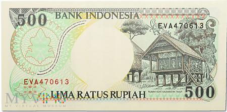 Indonezja - 500 rupii 1992r.