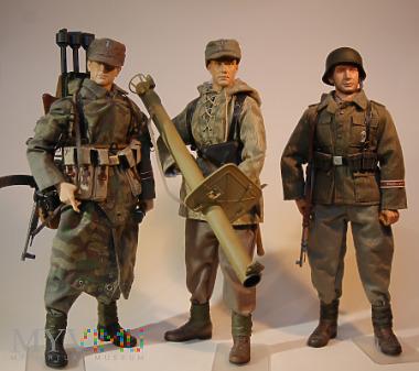 Sekcja panzerjager- 110 Pz.Br. Feldheernhalle