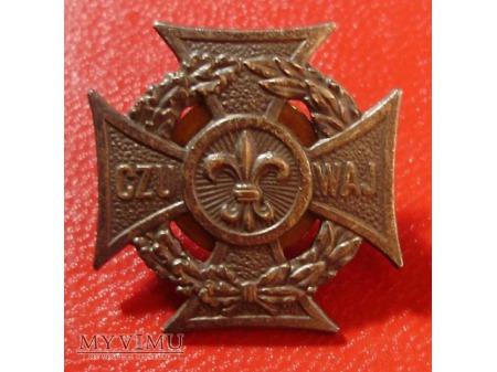 Krzyż harcerski CZUWAJ