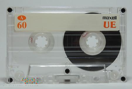 MAXELL UE 60 kaseta magnetofonowa