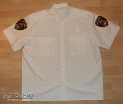 Biała koszula Straży Miejskiej