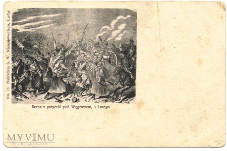 Powstanie styczniowe - bitwa pod Węgrowem 3 lutego