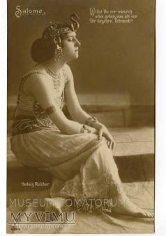 aktorka Hedwig Reicher jako Salome