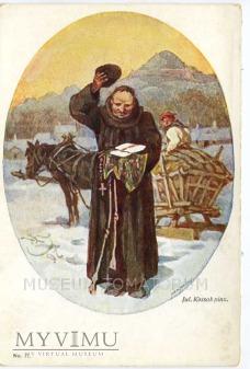 Kossak - Monk zakonnik - Opłatek