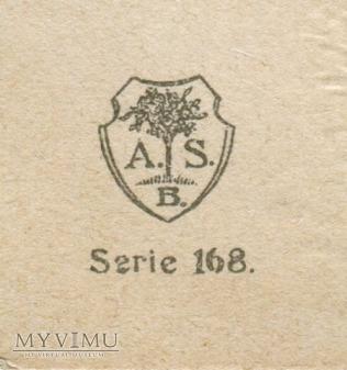 c. 1910 Życzenia Krasnal Nowy Rok Skrzat i Anioł