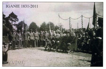 Iganie - 180 rocznica - pocztówka 2