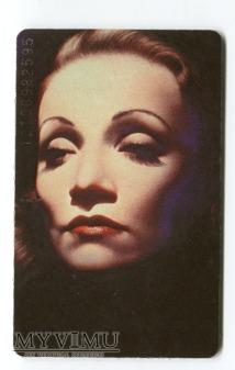 Duże zdjęcie Marlene Dietrich Gottfried Helnwein Telefonkarte