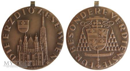 Duże zdjęcie Medal za wybitne zasługi dla Archidiecezji Wiednia