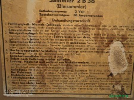 akumulator SAMMLER 2B38