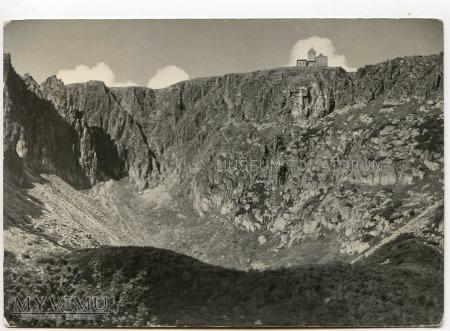 Karkonosze Śnieżne Kotły Schneegrubenbaude 1957