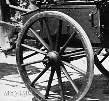biedka ckm - wz.33 - koło i konstrukcja resoru