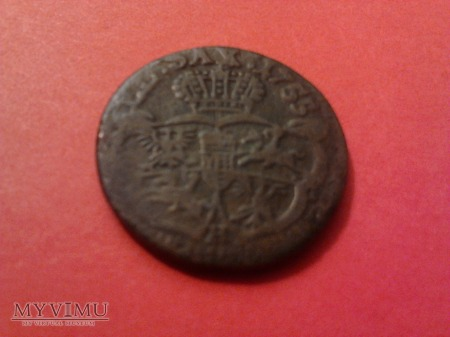 1 grosz 1755 August III SAS.