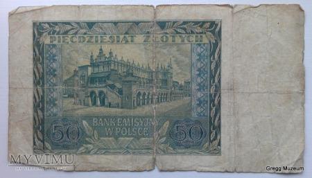 50 Złotych 1940