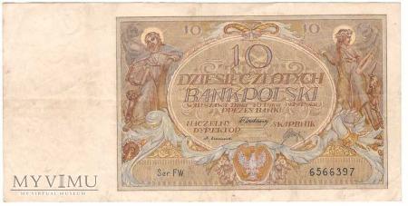 10 zł 1929r.