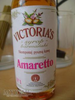 Amaretto - syrop barmański