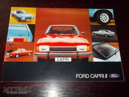 Prospekt FORD CAPRI II