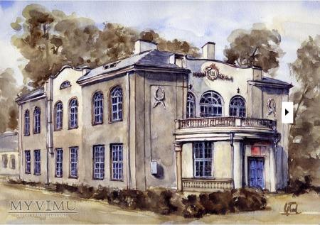 Otwock . Budynek Sądu Grodzkiego 1936 rok
