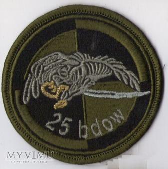 Emblemat polowy 25 batalion dowodzenia