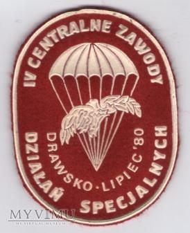 Oznaka pamiątkowa IV Centr.Zaw.Działań Specjalnych