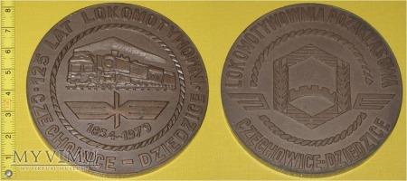 Medal kolejowy lokomotywowni Czechowice - Dziedz.
