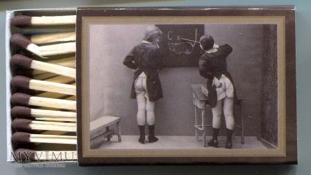Duże zdjęcie Akty kobiece w stylu retro na pudełkach zapałek
