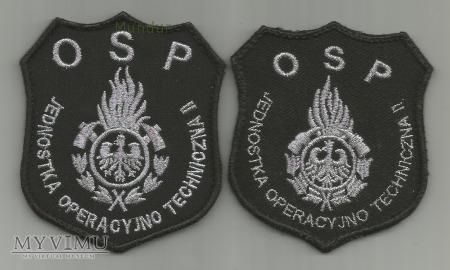 Emblemat Jednostki Operacyjno-Technicznej OSP