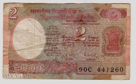 Indie, 2 rupie