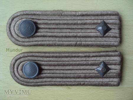 Oznaki stopnia na mundur polowy - Unterleutnant