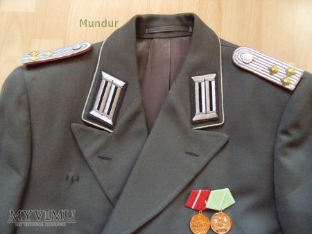 Mundur sukienny oficera Landstreitkräfte NVA