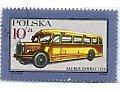Zobacz kolekcję Autobusy, trolejbusy na walorach filatelistycznych