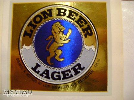LION BEER LAGER