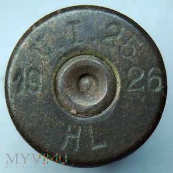 Łuska 8x58 R Krag V.I.25 26 HL 19