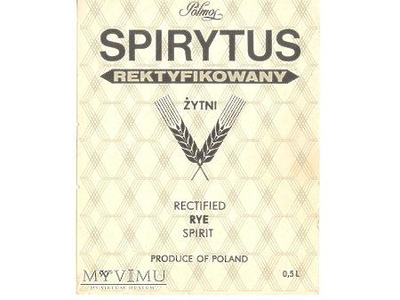 SPIRYTUS REKTYFIKOWANY ŻYTNI