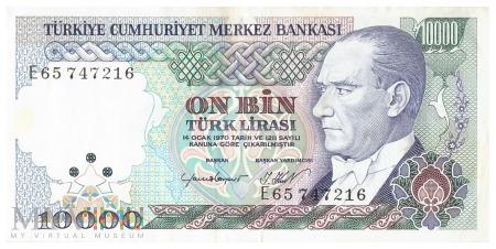 Turcja - 10 000 lir (1995)