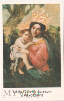 Duże zdjęcie Obrazek Matka Boża Miłosierdzia w Piekoszowie