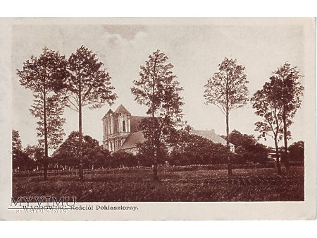 Wągrowiec - kosciół poklasztorny