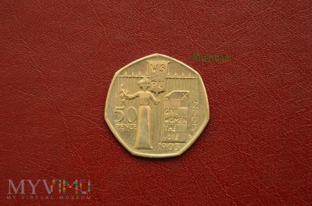 Moneta brytyjska: 50 pence