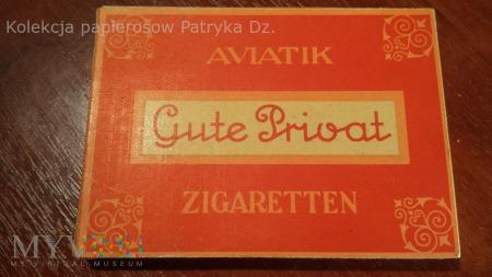Papierosy AVIATIK Gute Privat 10 szt. III Rzesza